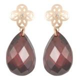 Cataleya Jewels  Earrings flower red