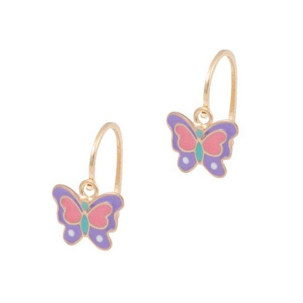 Earrings Kids Butterfly