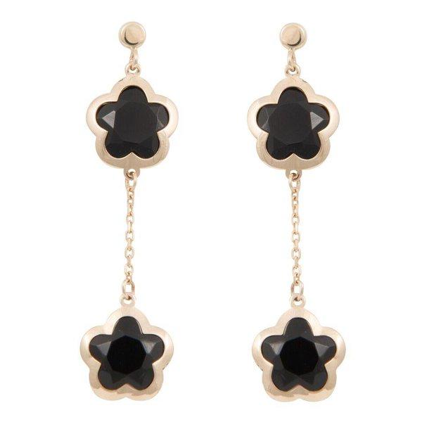 Earrings Daisy Crystal