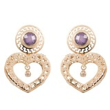 Cataleya Jewels  Earrings Queen of Heart