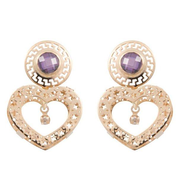 Earrings Queen of Heart