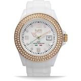 Tutti Milano Tutti Milano TM003WH-RO-Z- Horloge - 42.5 mm - Wit - Collectie Cristallo