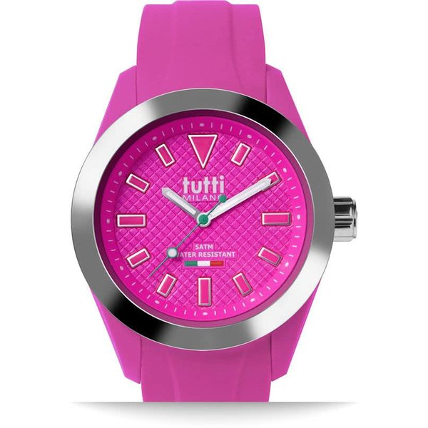 Polshorloge - 40 mm - Fuchsia - Collectie Fiore