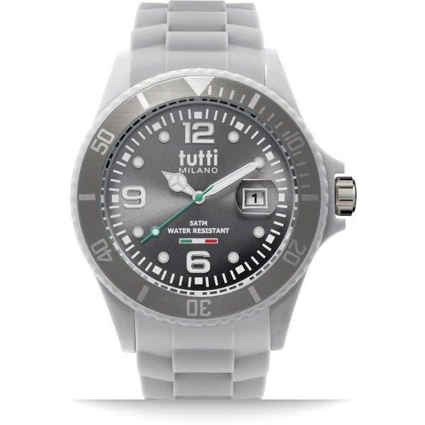 TM002GY- Horloge - 48 mm - Grijs - Collectie Pigmento