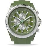 Tutti Milano TM005AG- Horloge - 48 mm - Groen - Collectie Meteora