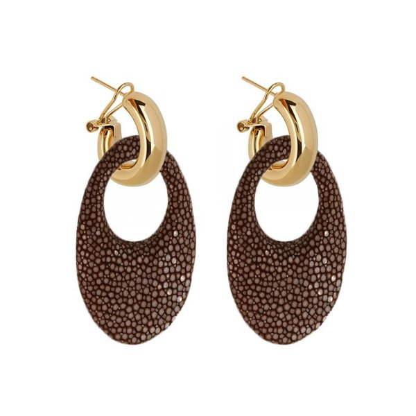 EARRING MARBELLA BROWN
