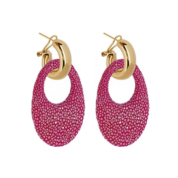 EARRING MARBELLA HOT PINK