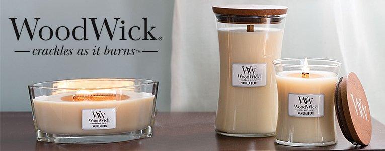 WoodWick® Geurkaarsen