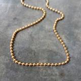 Jeh Jewels  Verguld bolletjes collier