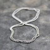 Jeh Jewels  Jeh Jewels Aluminium bolletjes collier