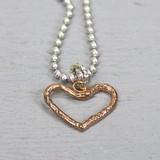 Jeh Jewels  18150 - Hanger zilver + rood koper