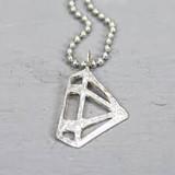 Jeh Jewels  18623 - Hanger zilver wit diamant