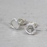 Jeh Jewels  Oorstekers zilver rond (Oorhangers)