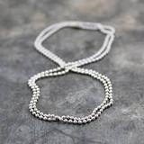 Jeh Jewels  Aluminium bolletjes collier