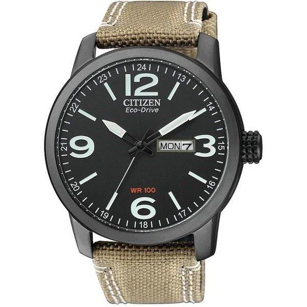 Citizen Eco-Drive - Horloge - 42 mm - Zwart/Wit - Solar uurwerk