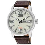 Citizen Citizen Eco-Drive - Horloge - 42 mm - Zilverkleurig / Wit - Solar uurwerk