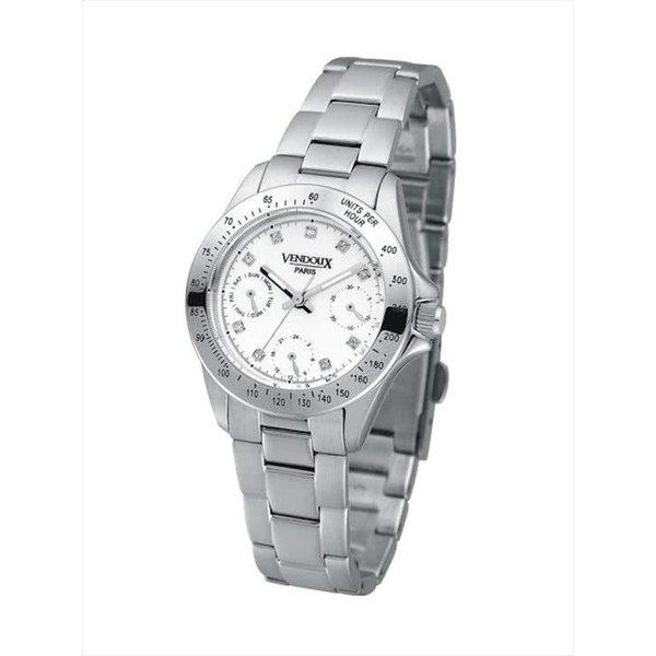 Vendoux MS31142-02 - Horloge - 32 mm - Zilverkleurig