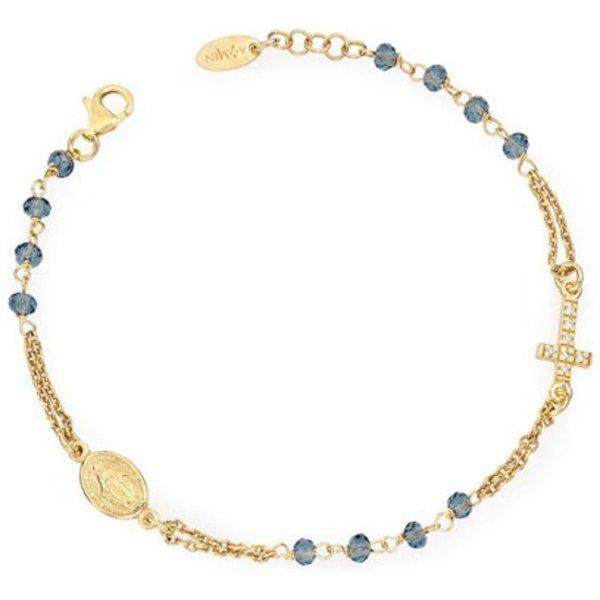 Bracelet Rosary Blue Cristal Pavè