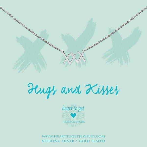 Heart to Get - XXX - Ketting - Zilver