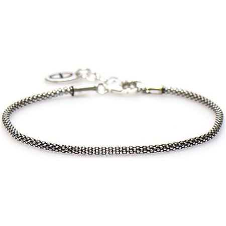 karma Silver Bracelet Unity Silver Armband 94007 (Lengte: 16.50-19.00 cm)