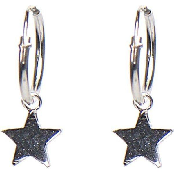 Hoops Symbols Star Silver Oorbellen M1904