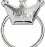 Bam Bam   Silver Plated Rattle