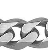 Diamant Centrum Rotterdam best basics  Herenketting - Gourmet 10,5 mm 50 cm - Staal