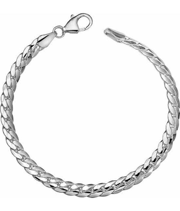 Diamant Centrum Rotterdam Huis collectie   Armband Gourmet Bol 5,3 mm - Zilver