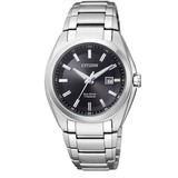 Citizen Citizen Super Titanium - Horloge - Titanium - 34 mm - Zilverkleurig / Zwart - Solar uurwerk