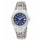 Citizen Citizen Super Titanium - Horloge - Titanium - 28 mm - Zilverkleurig / Blauw - Solar uurwerk