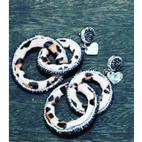 Lovely Since2017 Classic Circles Leopard color light