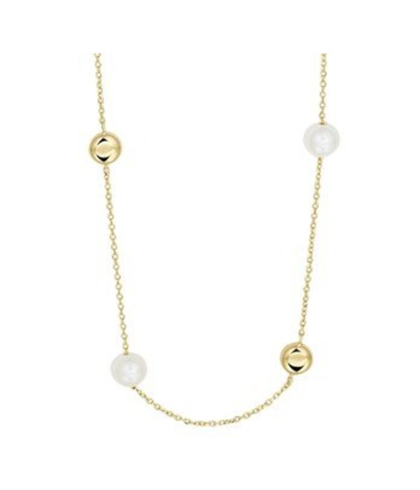 Diamant Centrum Rotterdam best basics  Collier parel 1,1 mm 80 cm