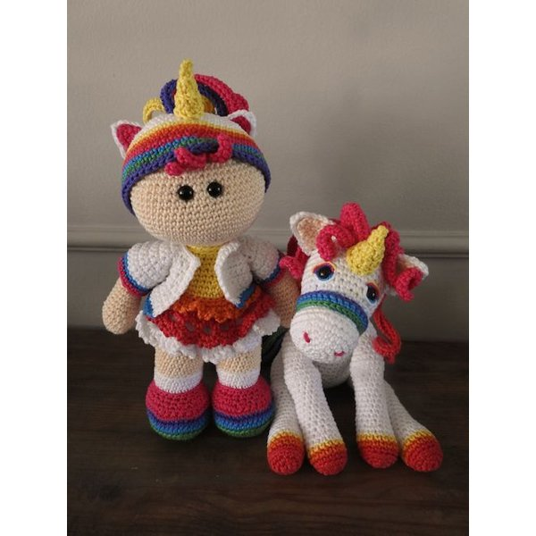 Haakpakket Funny Unicorn set