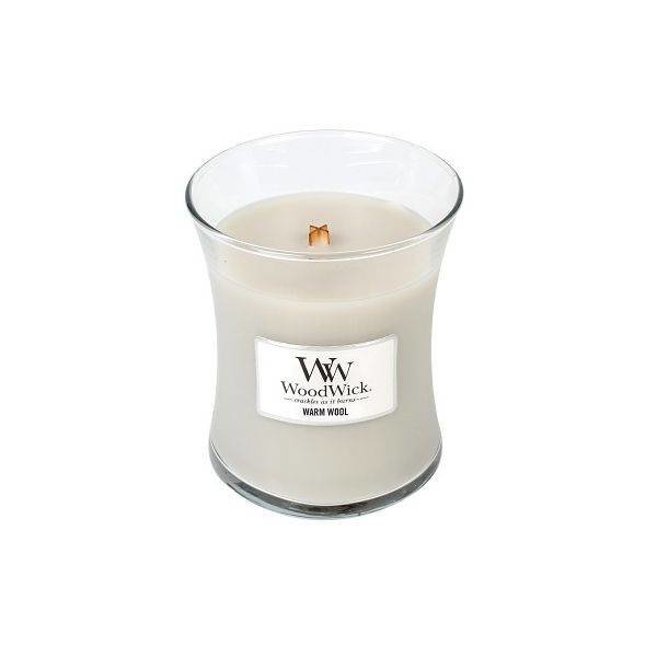 Woodwick Medium Candle Warm Wool