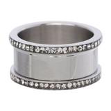 iXXXi Jewelry IXXXI BASIS RING 10 MM ZIRCONIA - R07101-03