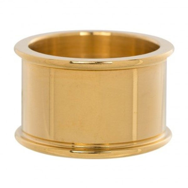 IXXXI BASIS RING 12 MM GOLD COLOR - R01801-01
