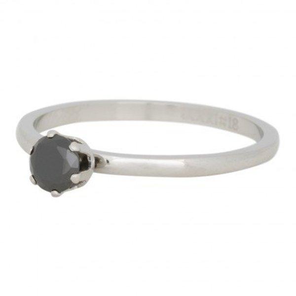 IXXXI RING CROWN BLACK DIAMOND - R04205-03