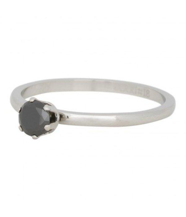 iXXXi Jewelry IXXXI RING CROWN BLACK DIAMOND - R04205-03
