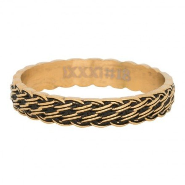 IXXXI RING LUCKY KNOT GOLD COLOR - R05103-16