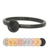 iXXXi Jewelry IXXXI RING TOP PART BASE BLACK - R05001-05