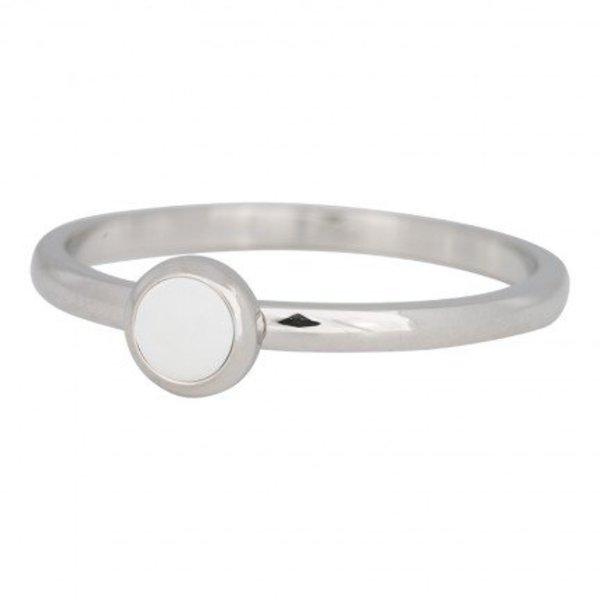 IXXXI RING STONE BRIGHT WHITE - R04108-03