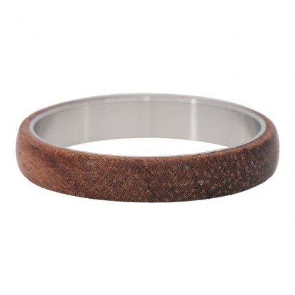 IXXXI RING WOOD DARK BROWN - R04703-03