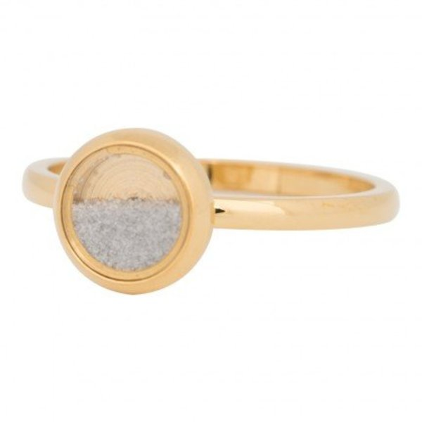 IXXXI RING FILL SOFT WITH SAND GOLD COLOR - R04318-01
