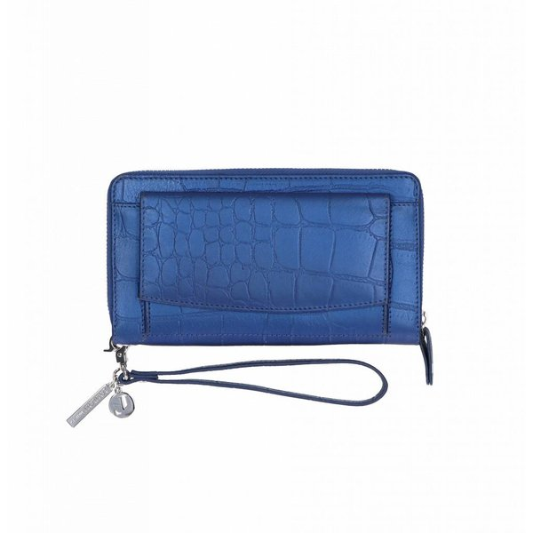 SLB Shiny Croco - 050 Dark Blue