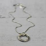 Jeh Jewels  19920 - Collier met losse cirkel hanger