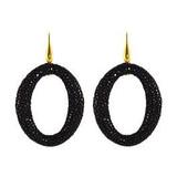 Miccy's sieraden Black hoops