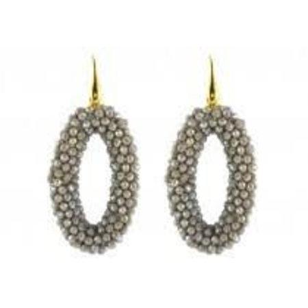 Grey Crystal ovals