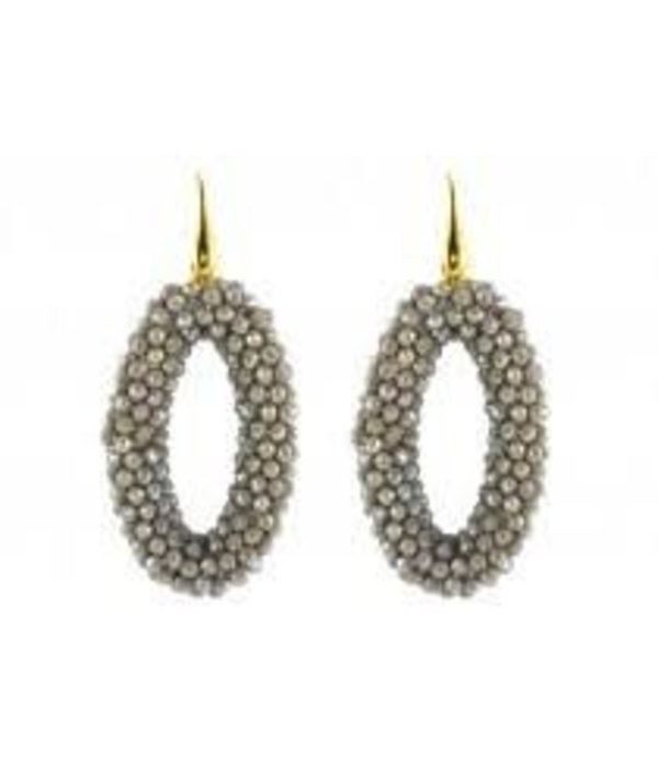 Miccy's Grey Crystal ovals