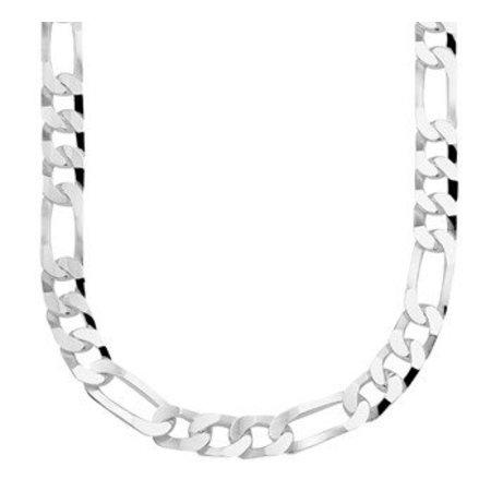 Diamant Centrum Rotterdam Huis collectie   Collier figaro 7,5 mm 50 cm