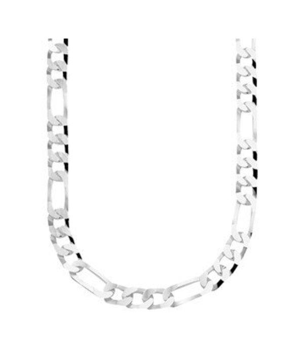 Diamant Centrum Rotterdam Huis collectie   Collier figaro 6,0 mm 50 cm